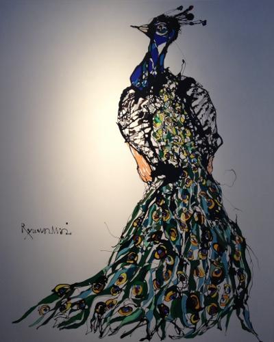 "peacock"""""